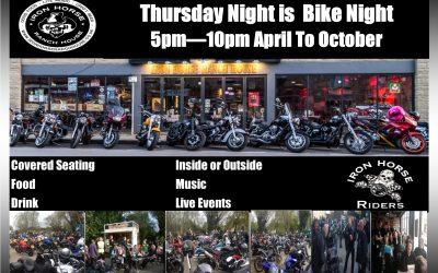 Bike Night – Every Thursday: April – October 2017